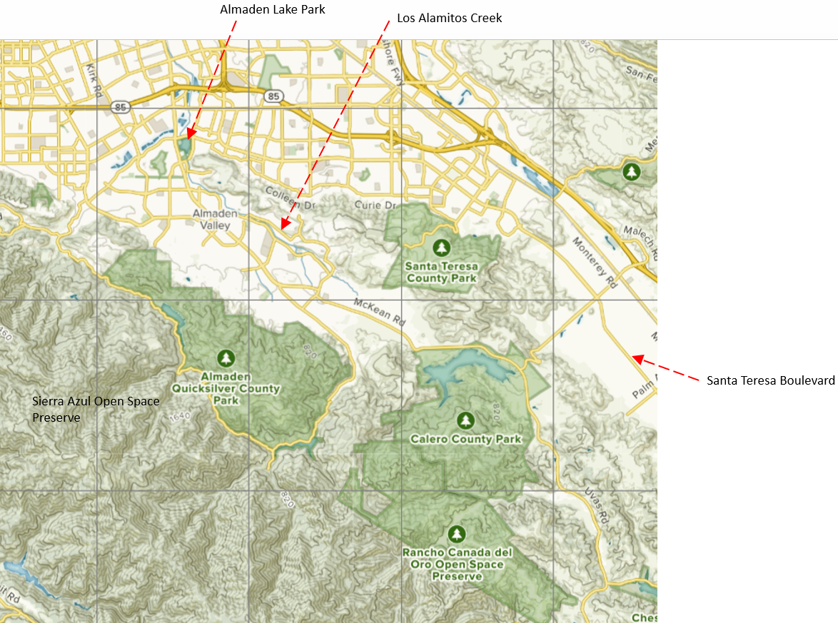 "A Tour of San Jose\'s ""Urban Reserve"" and 3 County Parks ..."